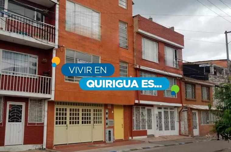 Conoce el barrio Quirigua